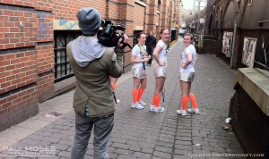 Filming for Easyjet in Northern England